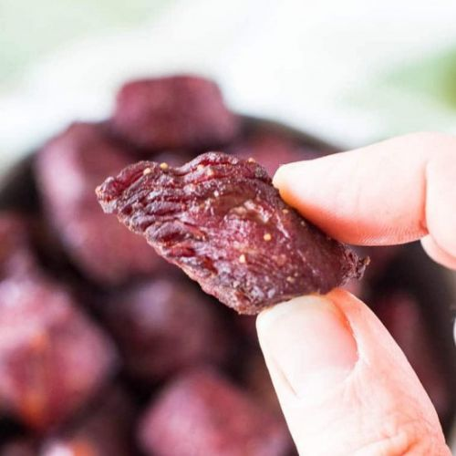 Teriyaki Smoked Steak Bites