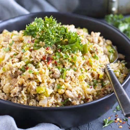 Cauliflower Dirty Rice
