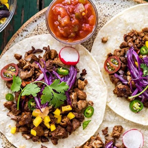 Korean Pork Bulgogi Tacos