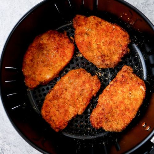 Air Fryer Keto Pork Chops