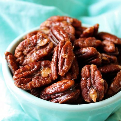 5 Minute Candied Pecans