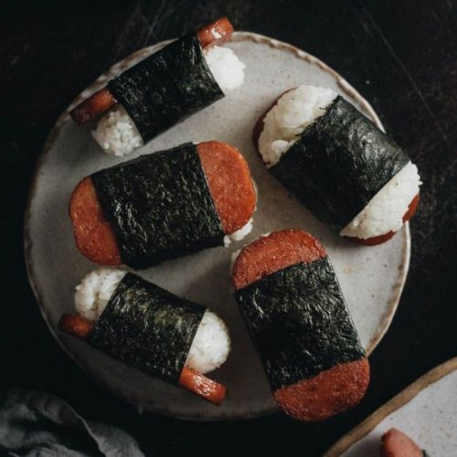 Barter-Worthy Spam Musubi