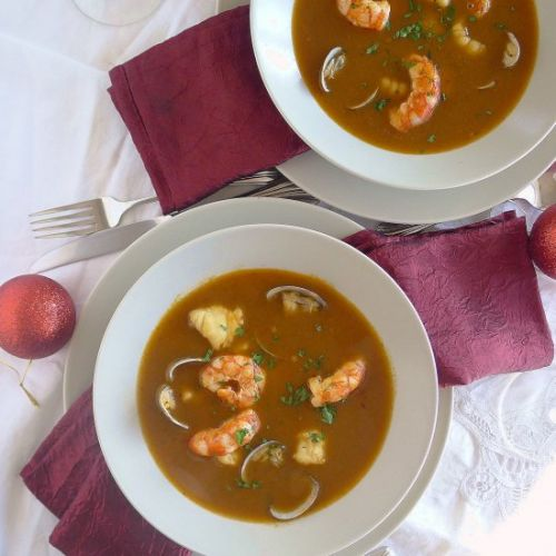 Holiday Seafood Soup