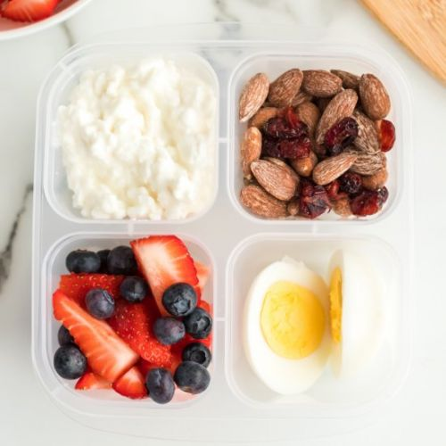 Grab and Go Protein Breakfast Boxes