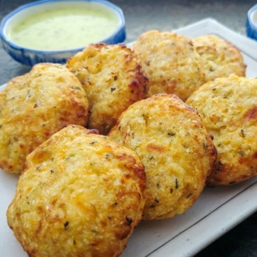 Cheesy Cauliflower Croquettes
