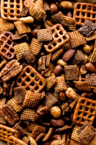 Sweet & Spicy Honey Chex Mix