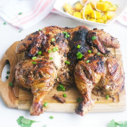 Jamaican Rum Chicken