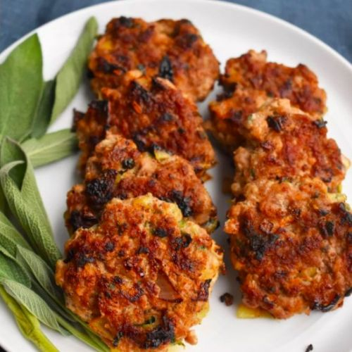 Breakfast Pork Patties with Sage