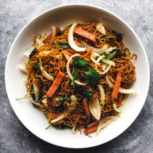 SOY SAUCE PAN-FRIED NOODLES