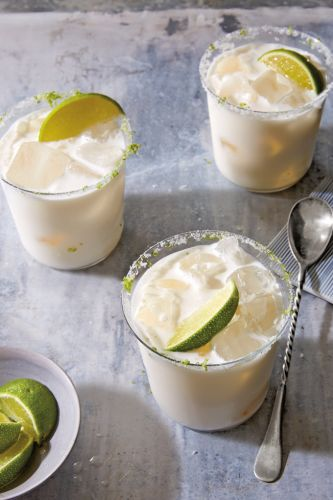 Coconut Cream and Lime Margarita