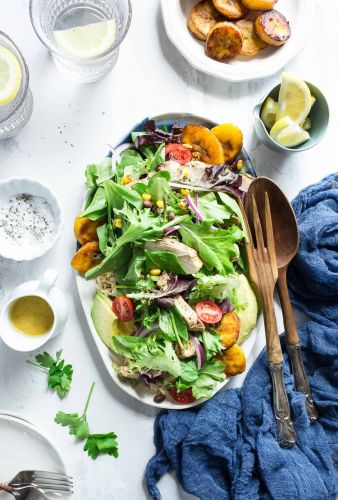 Cuban-Style Grilled Chicken Salad