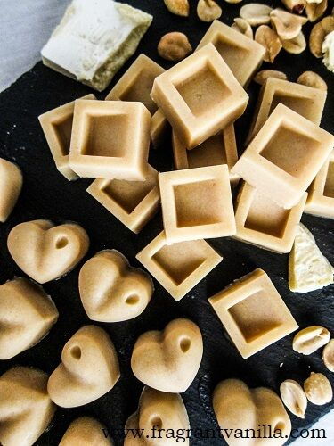 Vegan Peanut Butter White Chocolates