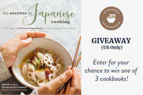 'The Secrets to Japanese Cooking' Cookbook Giveaway