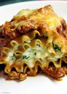 Lightened Up Chicken Lasagna Rolls