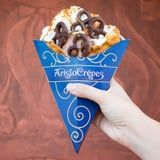 This Disney Dessert Combines Our Favorite Things: Waffles, Pretzels, and Ice Cream!