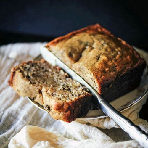 GF Banana Olive Oil Bread