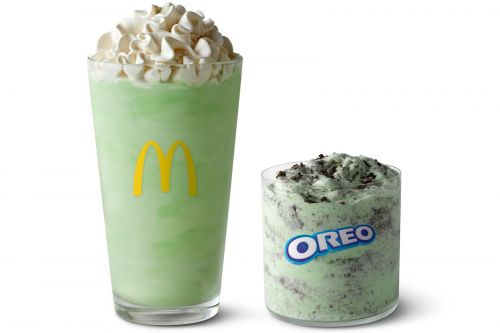 Look Who's Back! McDonald's Shamrock Shake Returns to Mark the First Green of Spring