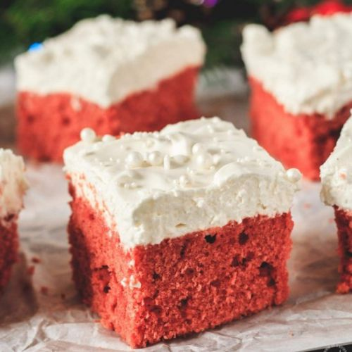 Christmas Gingerbread Red Velvet