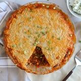 Need to Warm Up? Make This Hearty Chili With a Cheese-Crusted Cornbread Topping