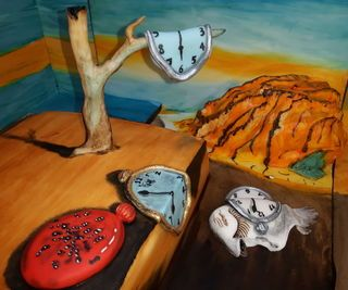 The Persistence of Memory Cake