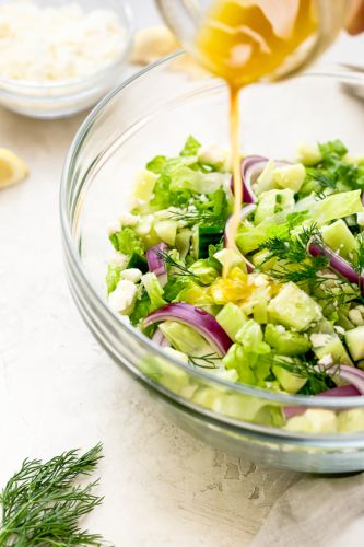 Chopped Feta Salad