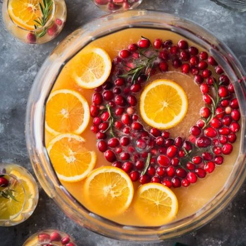 Cranberry Orange Punch