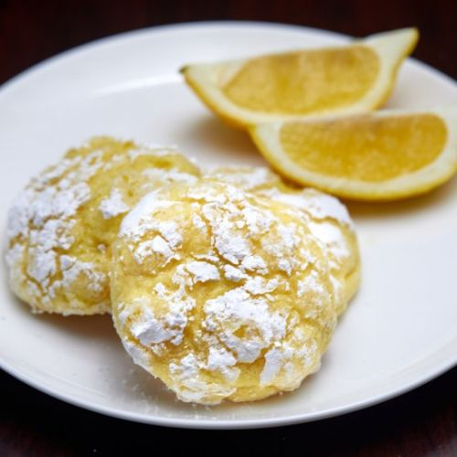 Triple Lemon Sunshine Cookies