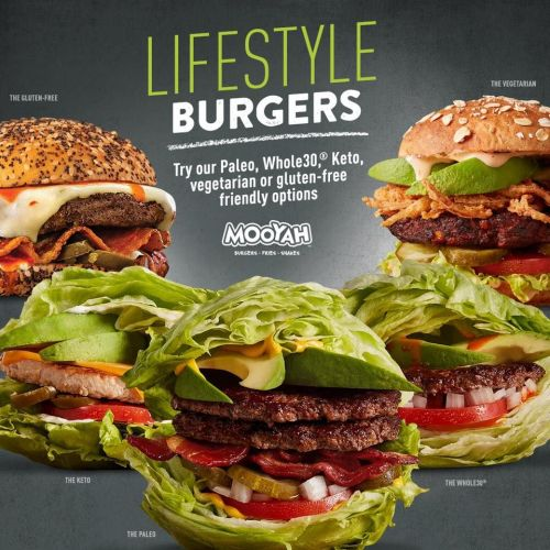 MOOYAH Burgers, Fries & Shakes Introduces Lifestyle Burgers to Meet Strong Demand for Guests' Growing Dietary Needs