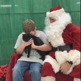 This Boy Got a Cat For Christmas After His Pet Died, and We Are Actually Weeping