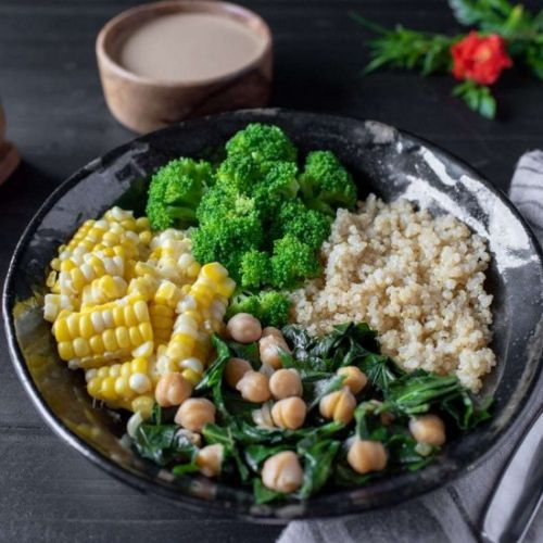 Vegan Macrobiotic Bowl