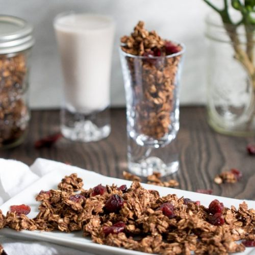 Chocolate Hazelnut Granola