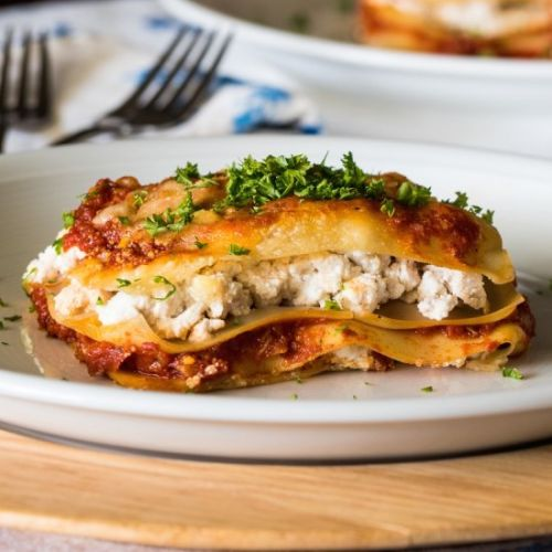 Electric Skillet Lasagna