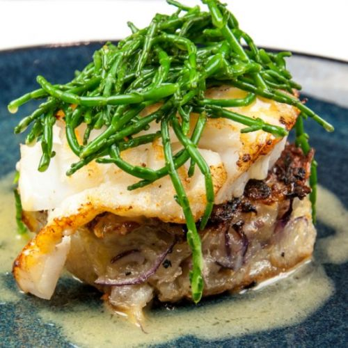 Pan Fried Cod with Beurre Blanc