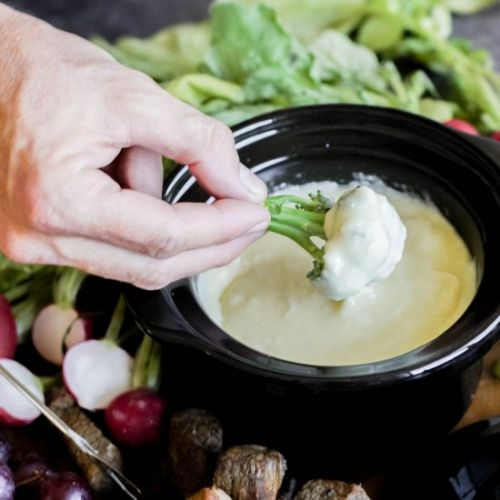 Three Cheese & Truffle Fondue