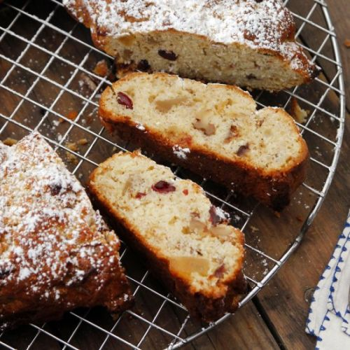Dried Fruit Stollen