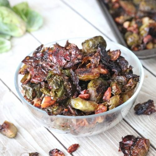 Candied Maple Brussels Sprouts