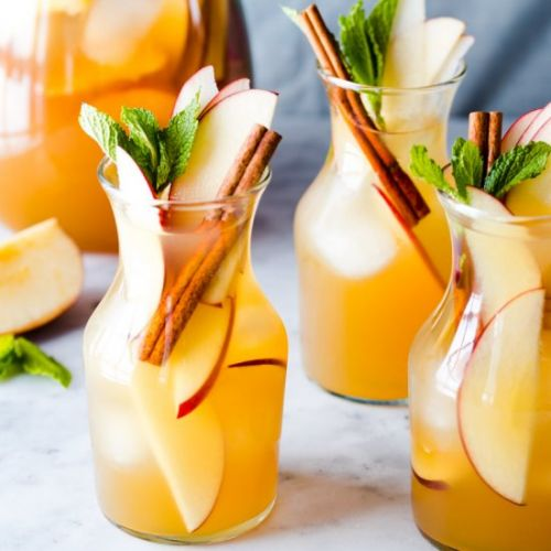 Apple Cider White Wine Sangria