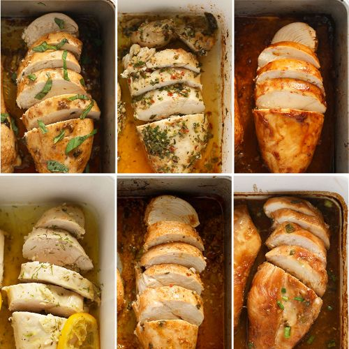 6 Baked Chicken Breast Recipes