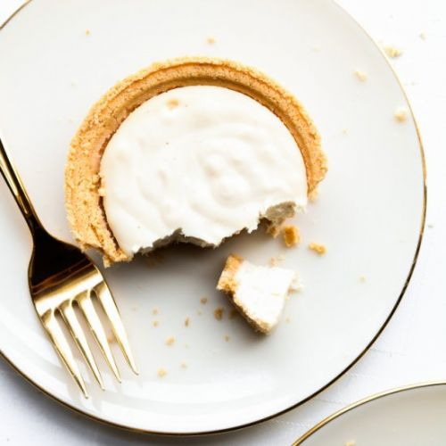 Vegan Champagne Cheesecake