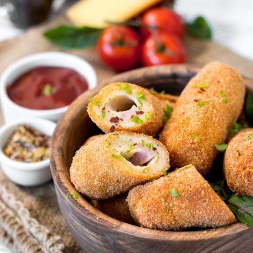 Fried chicken croquettes