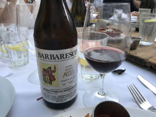 2007 Barbaresco in glorious focus right now: Produttori del Barbaresco Asili