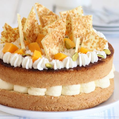 Tropical Layer Cake