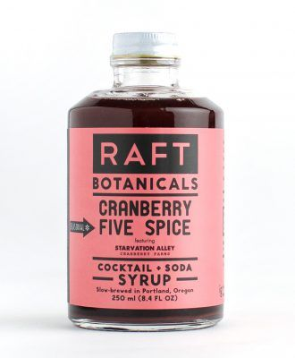 Drink of the Week: Raft Cranberry Five Spice Syrup