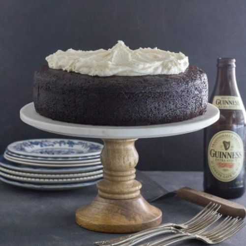 Black Velvet Chocolate Guinness Cake