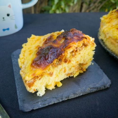 Grilled Cheese Pork Floss Cake