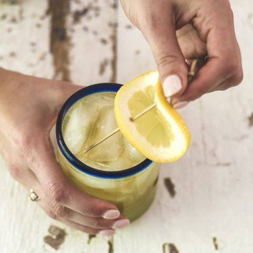 Kentucky Bourbon Lemonade Cocktail