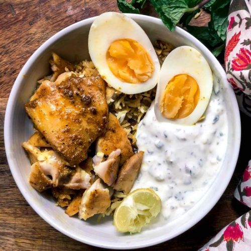 Easy Curried River Sole Rice Bowl