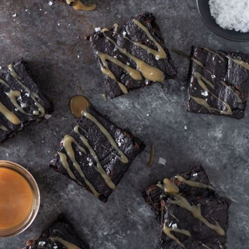 Brownies & Salted Tamarind Caramel