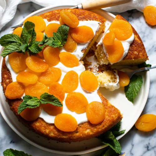 Apricot Snacking Cake