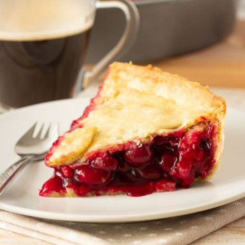 Vegan Twin Peaks Cherry Pie